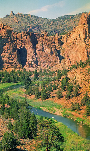 Crooked River at Smith Rocks