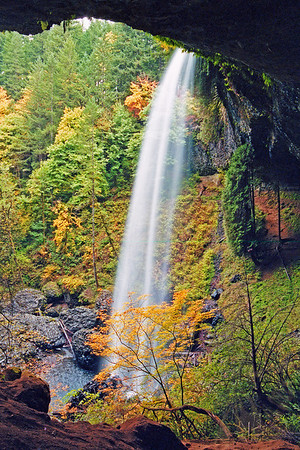 Silver Falls Side View