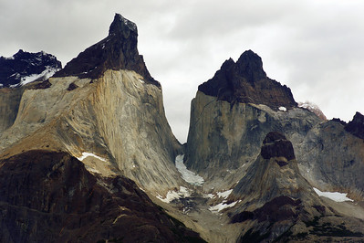 "Cuernos del Paine (""Horns of Paine"") Up Close & Personal"