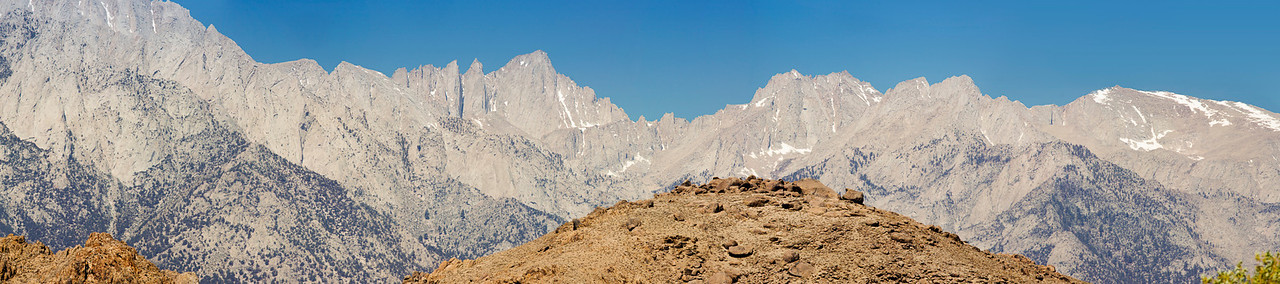 Mt. Whitney<br /> (17 Photo Panorama)