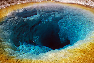 Morning Glory Pool Geyser